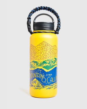 Mountains Are Calling 32 oz. Insulated Steel Water Bottle