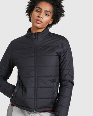 The Women's Bison Puffer - Black