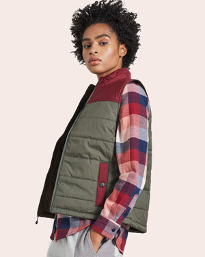 The Women's Bison Puffer Vest