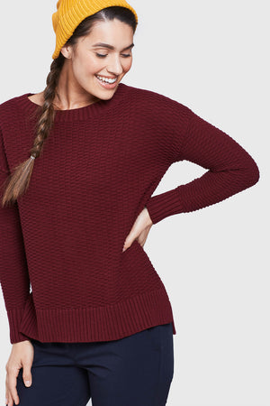 Himley Waffle Sweater