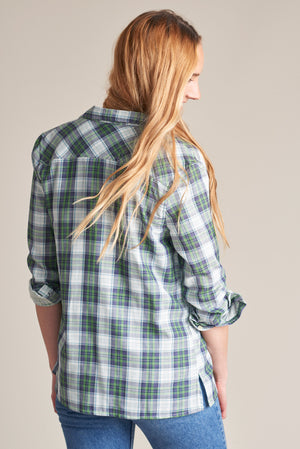 Stargrass Relaxed Plaid Button Down