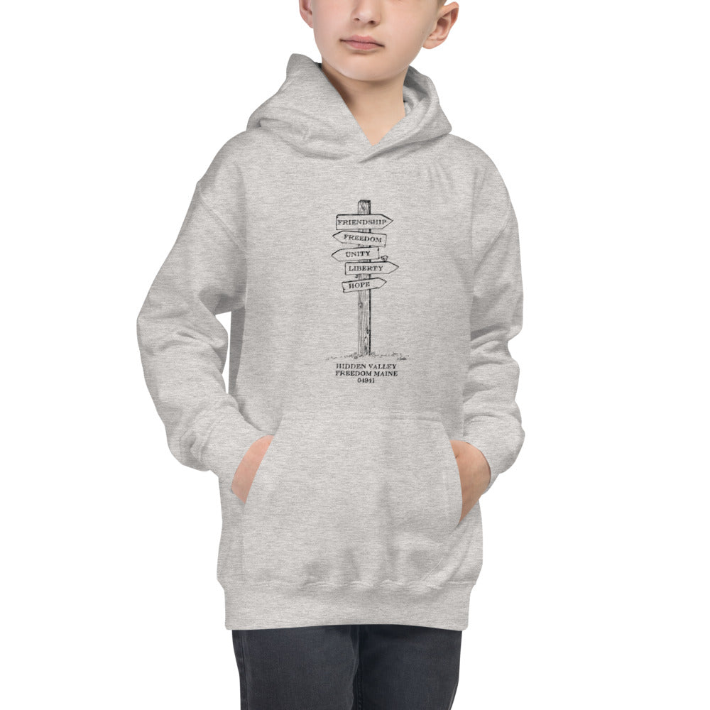 Sign Post - Youth Hoodie