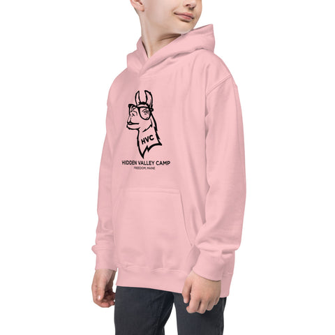 Hipster Llama - Youth Hoodie