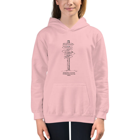 Sign Post Youth Hoodie