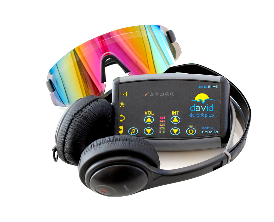 DAVID Delight Plus - Electronic Device for Relaxation and Brainwave Entrainment