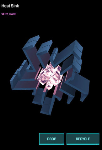 Ingress Heat Sink Very Rare VRHS - Ingress Items