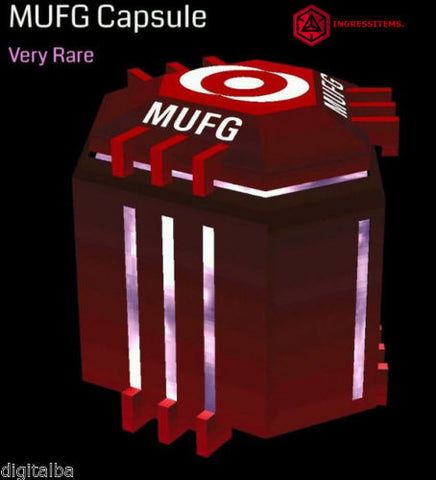 MUFG CAPSULE RED CAPSULE + 100 MODS RARE + GIFT - Ingress store Ingress Items