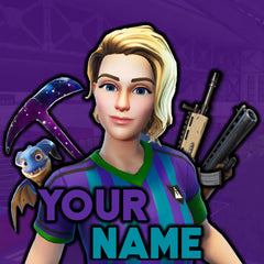 FORTNITE LOGO PROFILE AVATAR YOUTUBE DISCORD REDDIT FACEBOOK