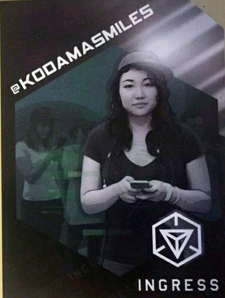 Ingress badge - KODAMASMILES medal Kodama Smile