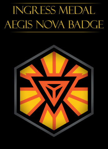 Ingress badge - ingress medal Aegis Nova Anomaly - Ingress Items