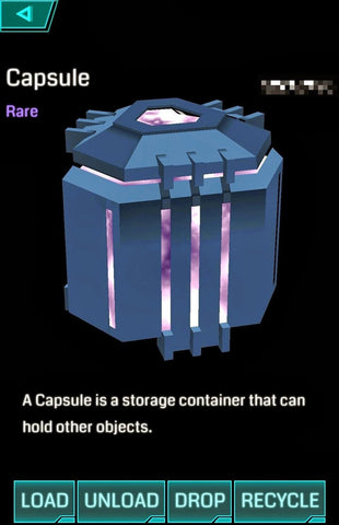 Ingress Capsule - Ingress Items
