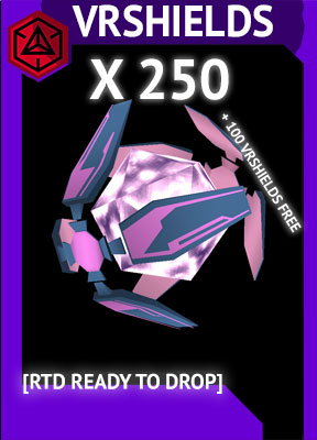 [RTD Ready To Drop] 250 VERY RARE SHIELDS + 100VRS FREE