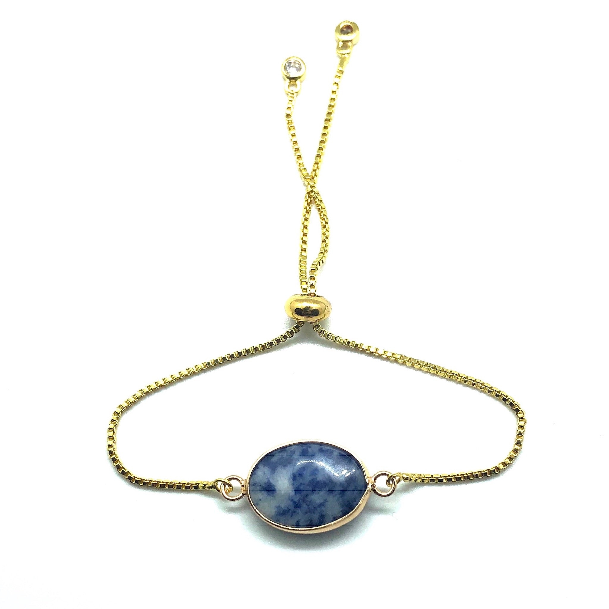 Sodalite Pulley