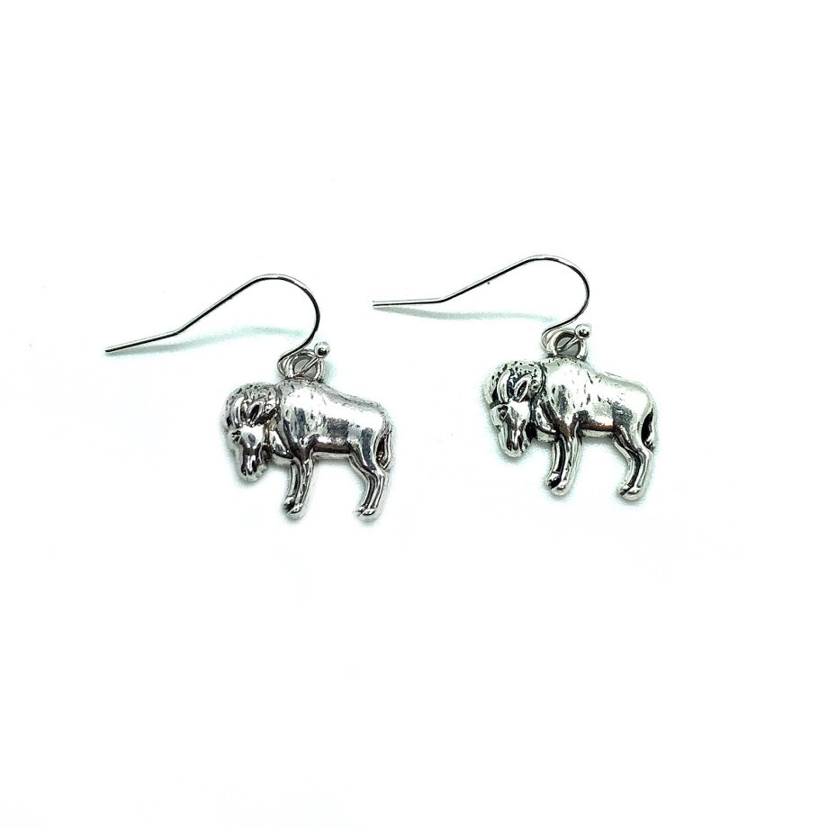 Buffalo Dangle Earring