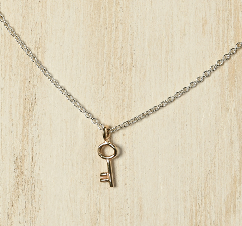 Hanging Key Necklace