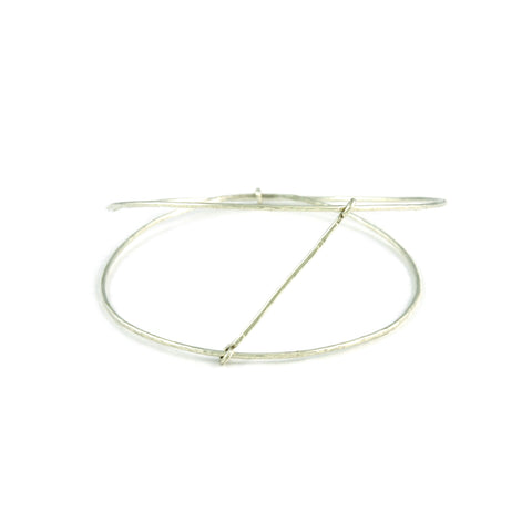 Silver Moving Stick Bangle