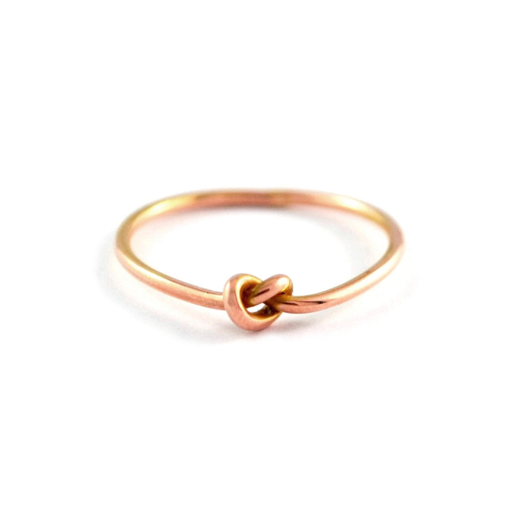 Knot Ring Wjewellery