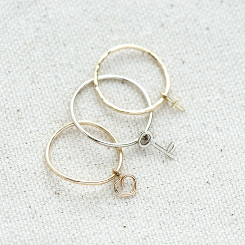 Hanging Cross Ring