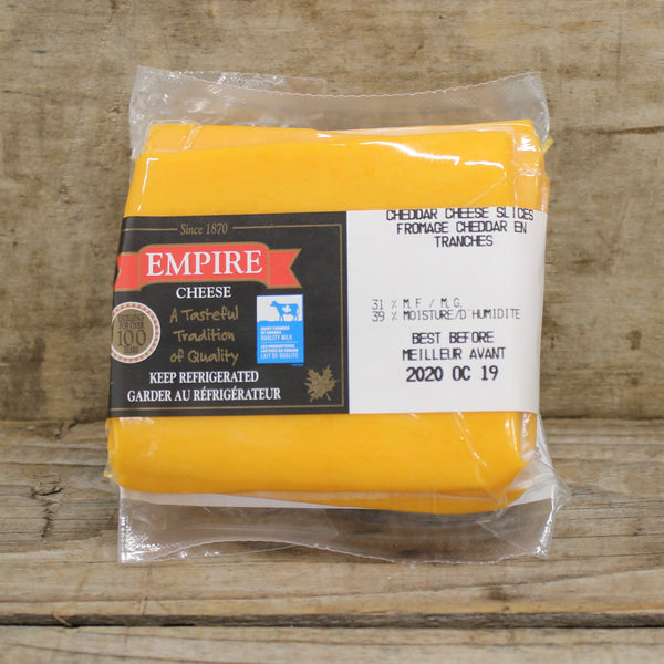 Cheddar Slices - Empire Cheese