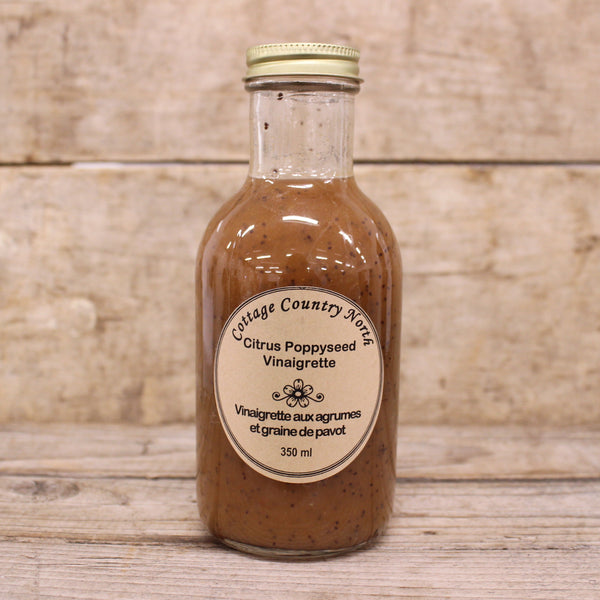 Citrus Poppyseed Vinaigrette - Cottage Country North