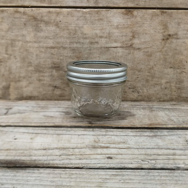 125ml Regular Mouth Canning Jars - Berndardin