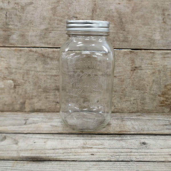 1L Regular Mouth Canning Jars - Berndardin