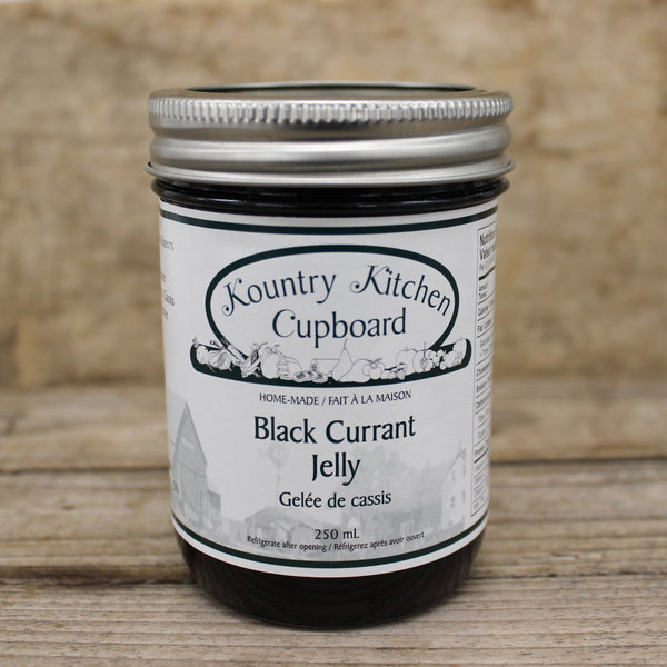 Black Currant Jelly - Kountry Kitchen Cupboard