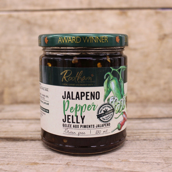 Jalapeno Jelly - Rootham Gourmet Preserves