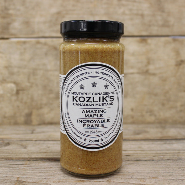 Amazing Maple Mustard - Kozlik's