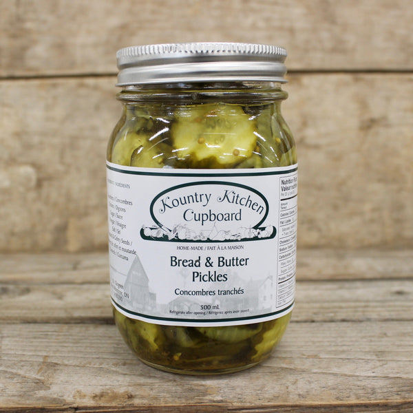 Bread & Butter Pickles - Kountry Kitchen Cupboard