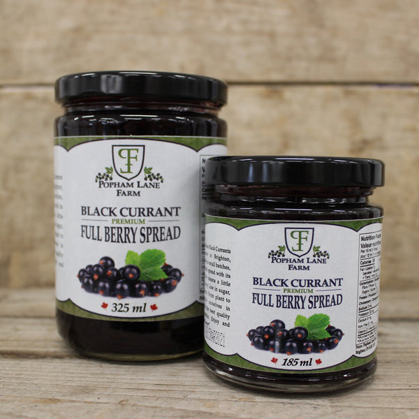Black Currant Spread-Popham Lane