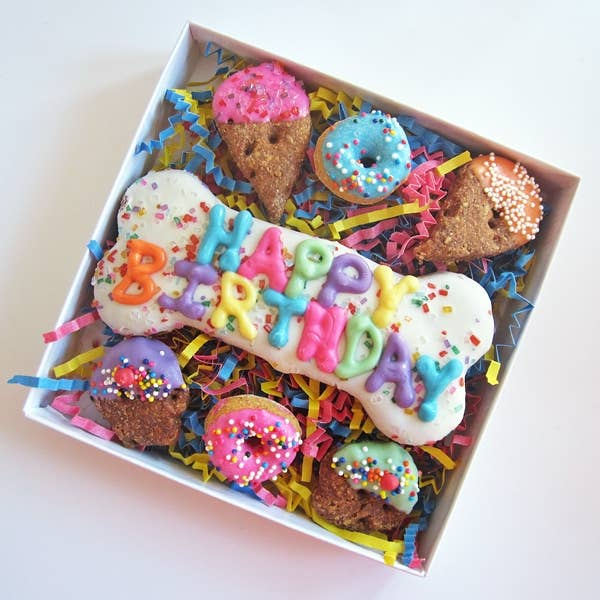 Dog Park Publishing - Happy Birthday Sprinkle Dog Treat Assortment
