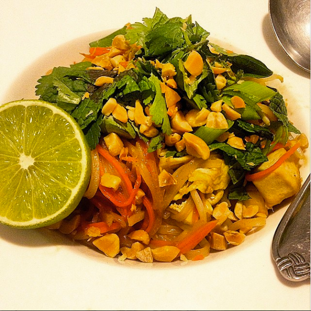 Pad Thai - Basic Street Noodles, Spa-Style