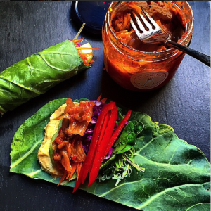 Cleansing, Cancer-Fighting Collard Wraps