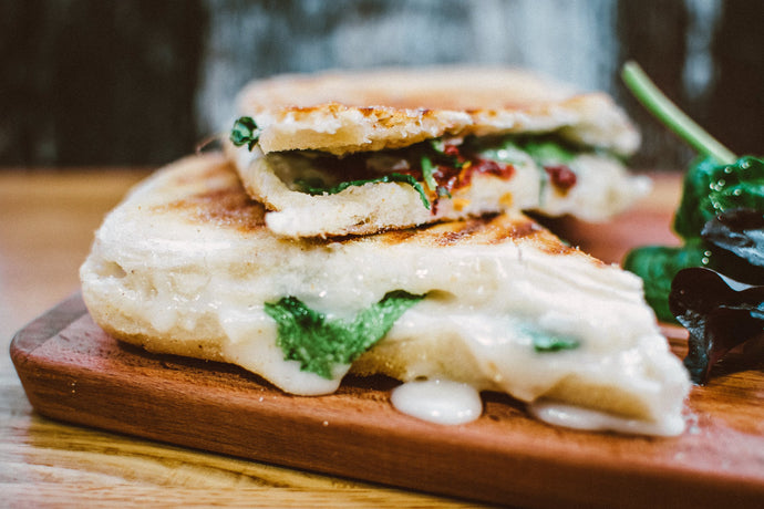 Grilled Zucchini & Cheese Panini