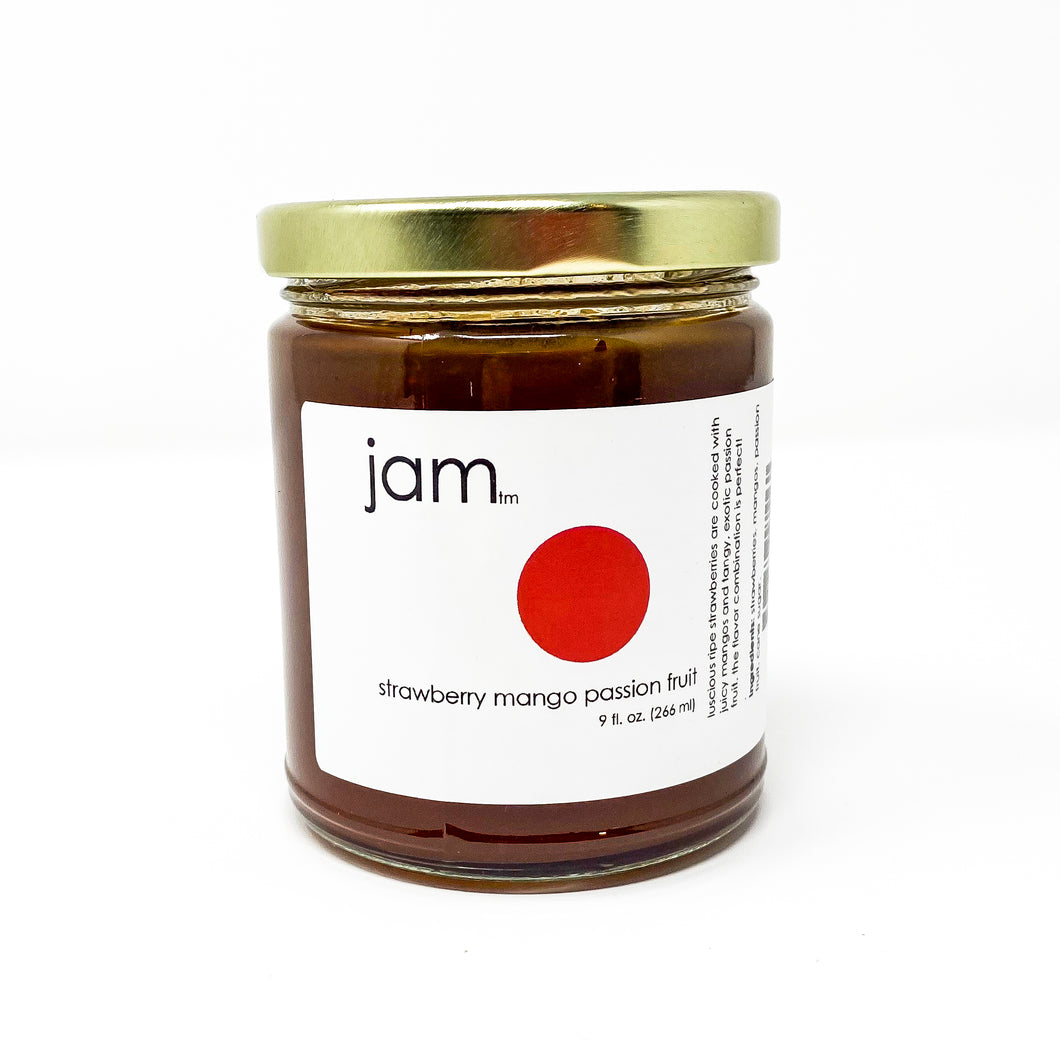 Jam - Strawberry, Mango and Passion Fruit