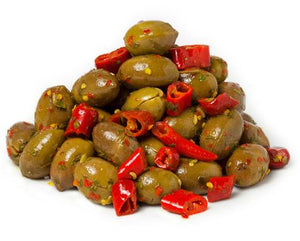 Olives - Spicy Green Olives