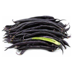 Organic Purple Green Beans