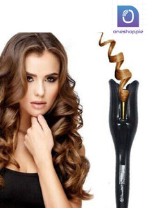 Rose-shaped Multi-Function LCD Curling Iron