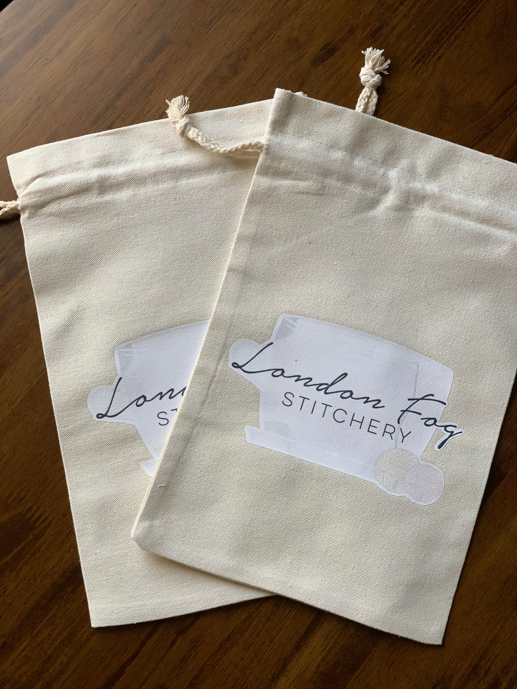 London Fog Stitchery Project Bag