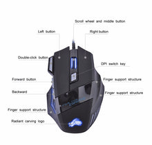 Load image into Gallery viewer, Professional 5500 DPI USB Wired Gaming Mouse - Gaming-Shop.net