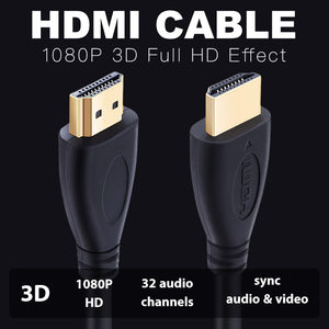 1080p HDMI High Speed Gold Tip Cable - Gaming-Shop.net