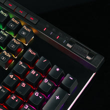 Load image into Gallery viewer, Redragon Mechanical LED Backlit 104 Keys Gaming Keyboard - Gaming-Shop.net