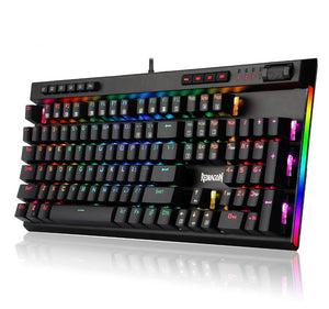 Redragon Mechanical LED Backlit 104 Keys Gaming Keyboard - Gaming-Shop.net