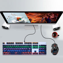 Load image into Gallery viewer, Gaming Mechanical Backlit Keyboard Blue Red Switch 87/104keys Anti-ghosting - Gaming-Shop.net
