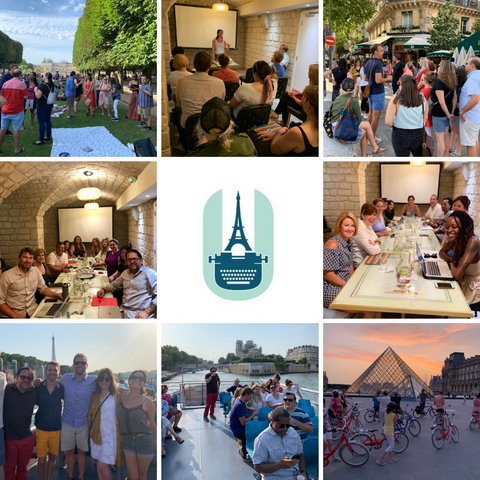 An AMAZING Writing Workshops Paris 2019!