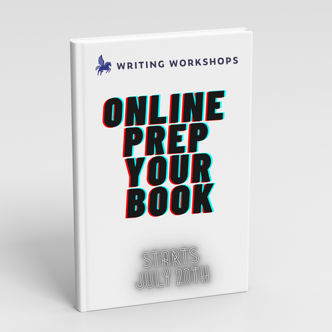 Online Prep Your Book Starts July 20th!