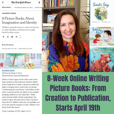 Picture Book Instructor Rosie J. Pova Featured in the New York Times!