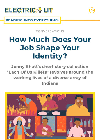 Instructor Jenny Bhatt Interviewed at Electric Literature