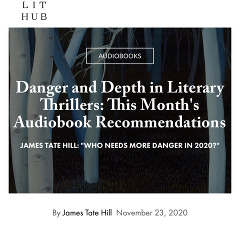 Instructor James Tate Hill's New Column at Literary Hub: Danger and Depth in Literary Thrillers